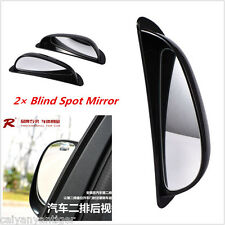 Car 2 Rear View Mirror Auxiliary Left Rear View Blind Spot Mirror Improve Visual