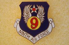 USAF 9th Air Force Military Hat Lapel Pin