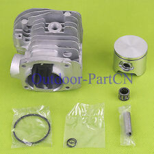 New LOW 44mm Cylinder Piston Kit for HUSQVARNA 346 350 351 353 Chainsaw