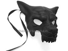 Mens Masquerade Ball WOLF Mask Birthday Hallween Animal Costume Prom Party