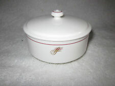 Cathay Pacific Airline Bone  China  SUGAR BOWL / COVERED BOWL - Noritake