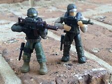 MEGA BLOKS 06875 CALL OF DUTY JUNGLE TROOPERS Micro Figure #2 & 5!!