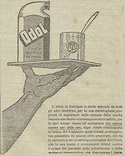 W3447 ODOL il miglior dentifricio del mondo - Pubblicità 1910 - Advertising