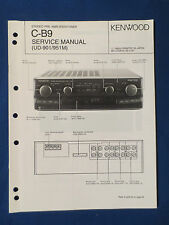 KENWOOD C-B9 L PREAMP TUNER SERVICE MANUAL ORIGINAL FACTORY ISSUE GOOD CONDITION