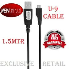 MICRO USB DATA CHARGE/SYNC U9 5 PIN ECC1DU2BBE CABLE FOR SAMSUNG MOBILES
