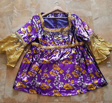 The Drew Carey Show - Mimi Bobeck Kathy Kinney Purple Gold Crazy Shirt Top w/coa