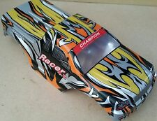 1/10 rc monster truck off road carrosserie rouge