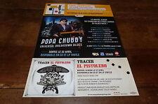 POPA CHUBBY - Publicité de magazine / Advert !!! UNIVERSAL BREAKDOWN BLUES !!!