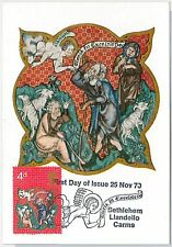 RELIGION Art -  GB : MAXIMUM CARD 1970  Bethlehem Llandeilo Carms 4d