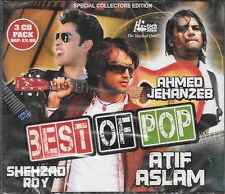 BEST OF POP -ATIF ASLAM,SHEHZAD ROY,AHMED JEHANZEB -BRAND NEW PAKISTANI 3CDs SET