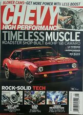 Chevy High Performance May 2017 Timeless Muscle Roadster Camaro FREE SHIPPING sb