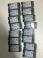 lot of 10 x 16 GB M.2 NGFF SSD, SAME DAY SHIPPING.