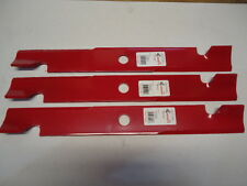 """NEW 3 Pack HD Hi Lift Blades for 60"""" Mower 103-6403 103-6403-S 20-1/2"""" USA MADE"""