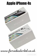 Apple iPhone 4s box complet avec original uk d'origine accessoires