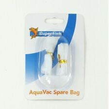 Superfish Aqua Vac sacs de filtre de rechange, siphon vide aquarium cleaner