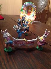 EASTER PARADE LIGHTED CHRISTMAS SNOW HOUSE VILLAGE LEMAX DEPT 56