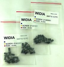 LOT OF 30 TORX SCREWS WIDIA M4X10mm  SCREW FOR INDEXABLE INSERT