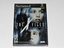 THE X FILES RESIST OR SERVE Playstation 2 PS2 Game NEW SEALED