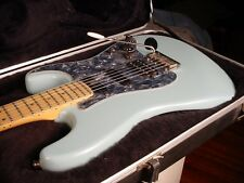 1997 Fender Strat Plus Deluxe Pale Blue Hint of Green Maple Fretboard