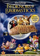 NEW DVD // DISNEY CLASSIC  // BEDKNOBS & and BROOMSTICKS // Angela Lansbury, Dav