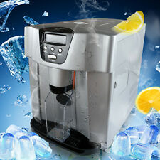 Stainless Steel Countertop Ice Maker, Compact Cube IceMaker Machine 22lb Per Day