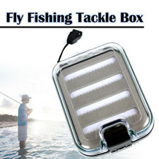 Elixir Fishing Waterproof Double Sided Ice Fly Fishing Tackle Box Bait Storage
