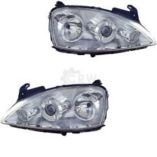 3D Ellipsoid Scheinwerfer Set Opel Corsa C Bj. 03-06 Facelift H7+H7 1070360