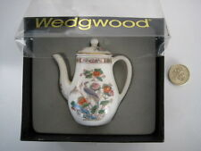 RARE WEDGWOOD KUTANI  MINIATURE TINY COFFEE POT BOXED