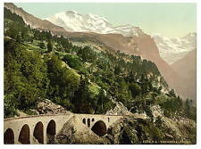 Wengern Alp Station Bernese Oberland A4 Photo Print