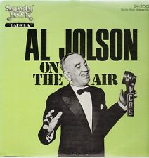Al Jolson On The Air, Sandy Hook Release No. 3, SH-2003, 1978 Sandy Hook Records