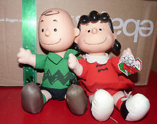 Plush Doll Toys McDonald's Charlie Brown & Lucy ! Peanuts