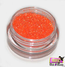 Orange Deep Laser Eye Shadow Glitter Dust Body Face Nail Party Make-Up
