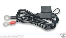 Battery Tender 081-0069-6 Terminal Harness w/ Black Fused 2-Pin Quick Disconnect