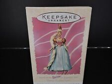 NEW IN BOX HALLMARK KEEPSAKE BARBIE AS REPUNZEL DOLL COLLECTOR'S SERIES ORNAMENT