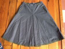 "Vintage German Lederhosen Wool Blend A-Line Skirt 42 EU 12 US 28"" Waist"