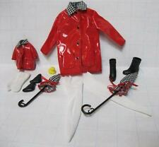 MATCHING Barbie & KELLY CLUB CLOTH Umbrellas~Rain Wear Coat Matchin Styles 100%
