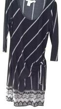 MAX MARA Black & White Design Max Studio Dress Size 12