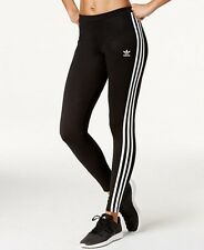 Adidas Originals Black/White 3 Stripe Women's Leggings (XL) New With Tags