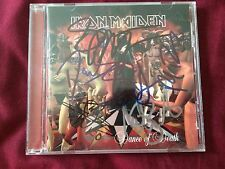 IRON MAIDEN Dance of Death Signed CD/ Autographed