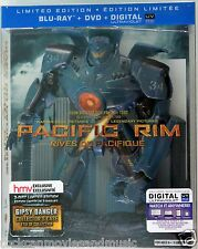 PACIFIC RIM GYPSY DANGER Collector's case Blu-ray Cdn SEALED SHIPPED IN BOX