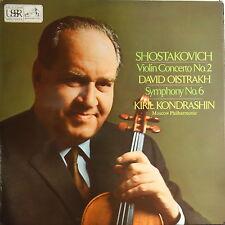 ASD 2447 Shostakovich Violin concerto No. 2 / Symphony No. 6 / David Oistrakh...