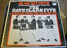 """The Dave Clark Five """"Glad All Over"""" Featuring """"Bits and Pieces"""" VG++"""