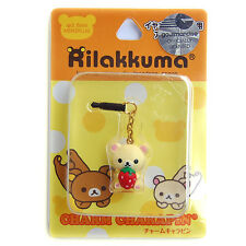 Ko-Rilakkuma earphone cap plug iPhone 5S 5 6 6S Plus iPod touch 5 4 Samsung 5SE