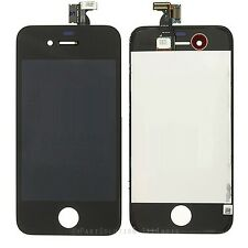 BLACK iPhone 4 LCD & Touch screen Assembly digitizer Lens OEM + anti glare