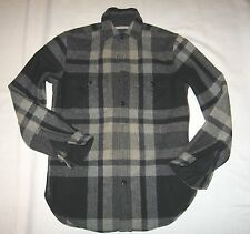 J.CREW NEW WITH TAG SPRINGFIELD HEAVY FLANNEL SHIRT JACKET Size:XS