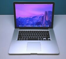 MacBook Pro 15 Apple Laptop *One Year Warranty* Upgraded 8GB / 750GB!