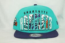 New Era NBA 950 CHARLOTTE HORNETS DOUBLE MIX Snapback Adjustable NWT Cap Hat HWC
