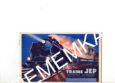 "Ancien Catalogue  ""TRAINS JEP""  1933 - BROCHURE ETAT NEUF- FORGEACIER"
