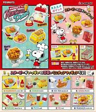 Re-Ment Mini Figiures Snoopy's American Dinner 8pcs Complete Box (0236)