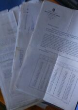 Lote de +/-70 documentos administrativos España años 50/80 (facturas,albaranes)